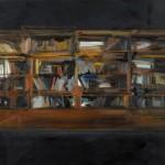 Librería. 162x195 cm. óleo/lino. 2012